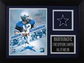 Roger Staubach Framed 8x10 Dallas Cowboys Photo (RS-P3A)