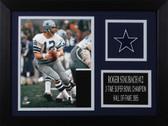Roger Staubach Framed 8x10 Dallas Cowboys Photo (RS-P5A)