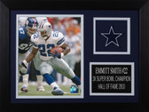 Emmitt Smith Framed 8x10 Dallas Cowboys Photo (ES-P5A)