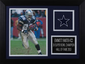 Emmitt Smith Framed 8x10 Dallas Cowboys Photo (ES-P7A)