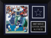 Emmitt Smith Framed 8x10 Dallas Cowboys Photo (ES-P8A)
