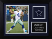 Dak Prescott Framed 8x10 Dallas Cowboys Photo (DP-P3A)