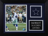 Dak Prescott Framed 8x10 Dallas Cowboys Photo (DP-P4A)