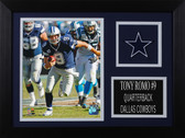 Tony Romo Framed 8x10 Dallas Cowboys Photo (TR-P1A)