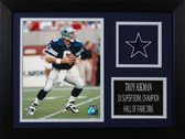 Troy Aikman Framed 8x10 Dallas Cowboys Photo (TA-P3A)