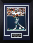 Roger Staubach Framed 8x10 Dallas Cowboys Photo (RS-P4C)