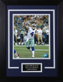 Dak Prescott Framed 8x10 Dallas Cowboys Photo (DP-P4C)