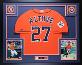 Jose Altuve Autographed & Framed Orange Houston Houston Astros Auto Fanatics COA