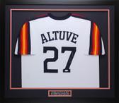 Jose Altuve Autographed & Framed Houston Houston Astros Auto JSA COA