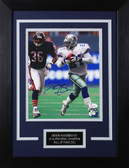 Deion Sanders Autographed & Framed 8x10 Cowboys Photo Auto JSA COA Design-8C