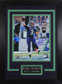 Russell Wilson Autographed & Framed 8x10 Seahawks Photo Auto Wilson COA Design-8C
