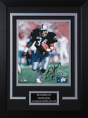 Bo Jackson Autographed & Framed 8x10 Raiders Photo Auto Beckett COA Design-8C