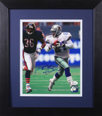 Deion Sanders Autographed & Framed 8x10 Cowboys Photo Auto JSA COA Design-8E
