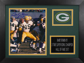 Bart Starr Autographed & Framed 8x10 Packers Photo Auto Tristar COA Design-8A