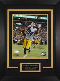 Antonio Brown Autographed& Framed 8x10 Steelers Photo Auto JSA COA Design-8C