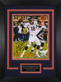 Peyton Manning Autographed& Framed 8x10 Broncos Photo Auto JSA COA Design-8C