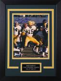 Bart Starr Autographed& Framed 8x10 Packers Photo Auto Tristar COA Design-8C