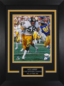 Jack Lambert Autographed & Framed 8x10 Steelers Photo Auto JSA COA Design-8C1