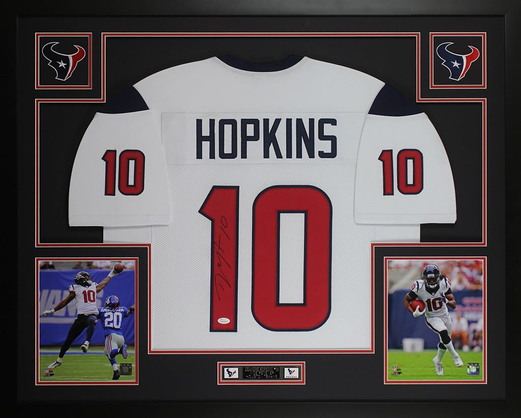 deandre hopkins white jersey