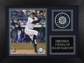 Ichiro Suzuki Autographed & Framed 8x10 Seattle Mariners Photo Auto MLB COA D-8A