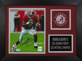 Derrick Henry Autographed & Framed 8x10 Alabama Crimson Tide Photo Auto PSA COA D-8A