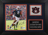 Cam Newton Autographed & Framed 8x10 Auburn Tigers Photo PSA COA D-8A1
