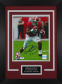 Derrick Henry Autographed & Framed 8x10 Alabama Crimson Tide Photo Auto PSA COA D-8C