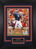 Cam Newton Autographed & Framed 8x10 Auburn Tigers Photo PSA COA D-8C
