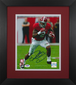 Derrick Henry Autographed & Framed 8x10 Alabama Crimson Tide Photo Auto PSA COA D-8E