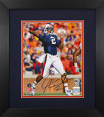 Cam Newton Autographed & Framed 8x10 Auburn Tigers Photo PSA COA D-8E