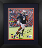Cam Newton Autographed & Framed 8x10 Auburn Tigers Photo PSA COA D-8E1