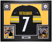 Ben Roethlisberger Autographed and Framed Steelers Jersey Auto Fanatics COA