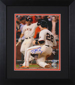 Buster Posey Autographed & Framed 8x10 Giants Photo Beckett COA D-8E