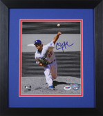Clayton Kershaw Autographed & Framed 8x10 Dodgers PSA/DNA D-8E1