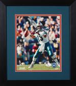 Dan Marino Autographed & Framed 8x10 Miami Dolphins Photo JSA COA D-8E1