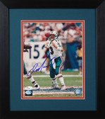 Dan Marino Autographed & Framed 8x10 Miami Dolphins Photo JSA COA D-8E2