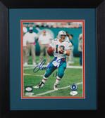 Dan Marino Autographed & Framed 8x10 Miami Dolphins Photo JSA COA D-8E3