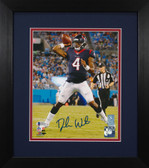 Deshaun Watson Autographed & Framed 8x10 Houston Texans Photo Beckett COA D-8E1