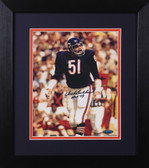 Dick Butkus Autographed & Framed 8x10 Chicago Bears Photo Tristar COA D-8E