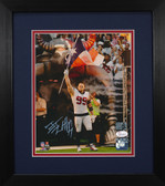 J.J. Watt Autographed & Framed 8x10 Houston Texans Photo JSA COA D-8E2