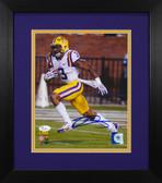 Odell Beckham Autographed & Framed 8x10 LSU Tigers Photo JSA COA D-8E1