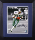 Tony Dorsett Autographed & Framed 8x10 Dallas Cowboys Photo JSA COA D-8E