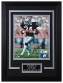 Bo Jackson Autographed & Framed 8x10 Oakland Raiders Photo JSA COA D-8C1