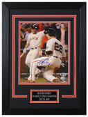 Buster Posey Autographed & Framed 8x10 Giants Photo Beckett COA D-8C