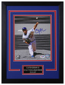 Clayton Kershaw Autographed & Framed 8x10 Dodgers PSA/DNA D-8C1