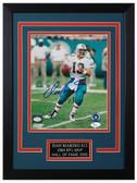Dan Marino Autographed & Framed 8x10 Miami Dolphins Photo JSA COA D-8C3