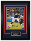 Deshaun Watson Autographed & Framed 8x10 Houston Texans Photo Beckett COA D-8C1
