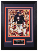 Dick Butkus Autographed & Framed 8x10 Chicago Bears Photo Tristar COA D-8C