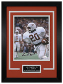 Earl Campbell Autographed & Framed 8x10 Texas Longhorns Photo JSA COA D-8C2