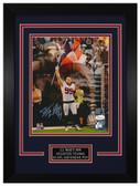 J.J. Watt Autographed & Framed 8x10 Houston Texans Photo JSA COA D-8C2